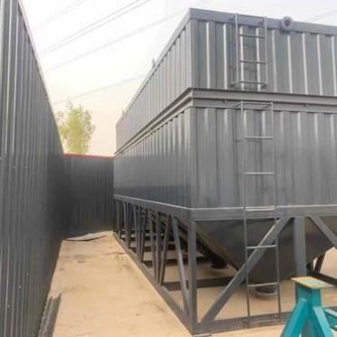 卧式水泥仓汇砼机械  白灰存储水泥仓进料均匀性能稳定